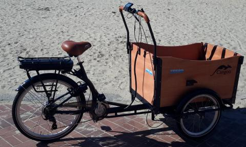E-Bakfiets Cangoo Travel